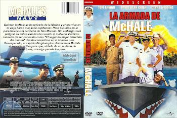 Carátula dvd: La armada de McHale (1997) (McHale's Navy)