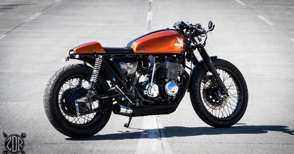 Bell Moto 3 >> CB 750 Cafe Racer ZDR Custom Moto - RocketGarage - Cafe ...