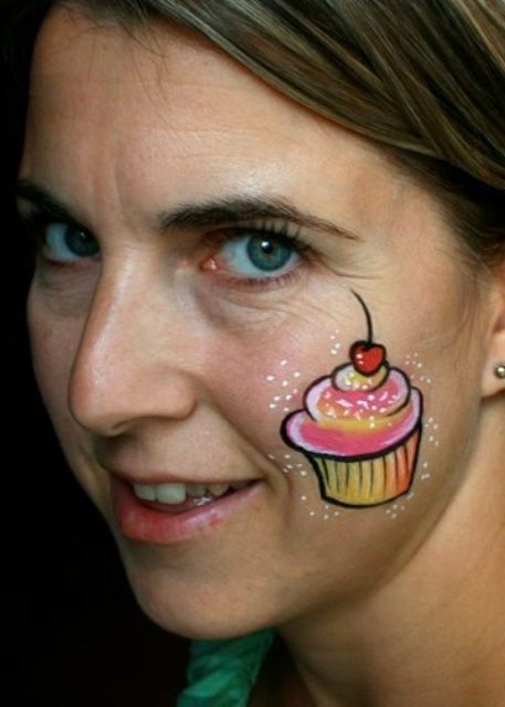 Simple Small Face Painting Designs - Face Paint Ideas