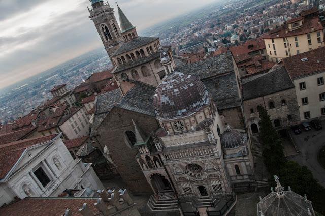 La Basílica Santa Maria Maggiore Bérgamo