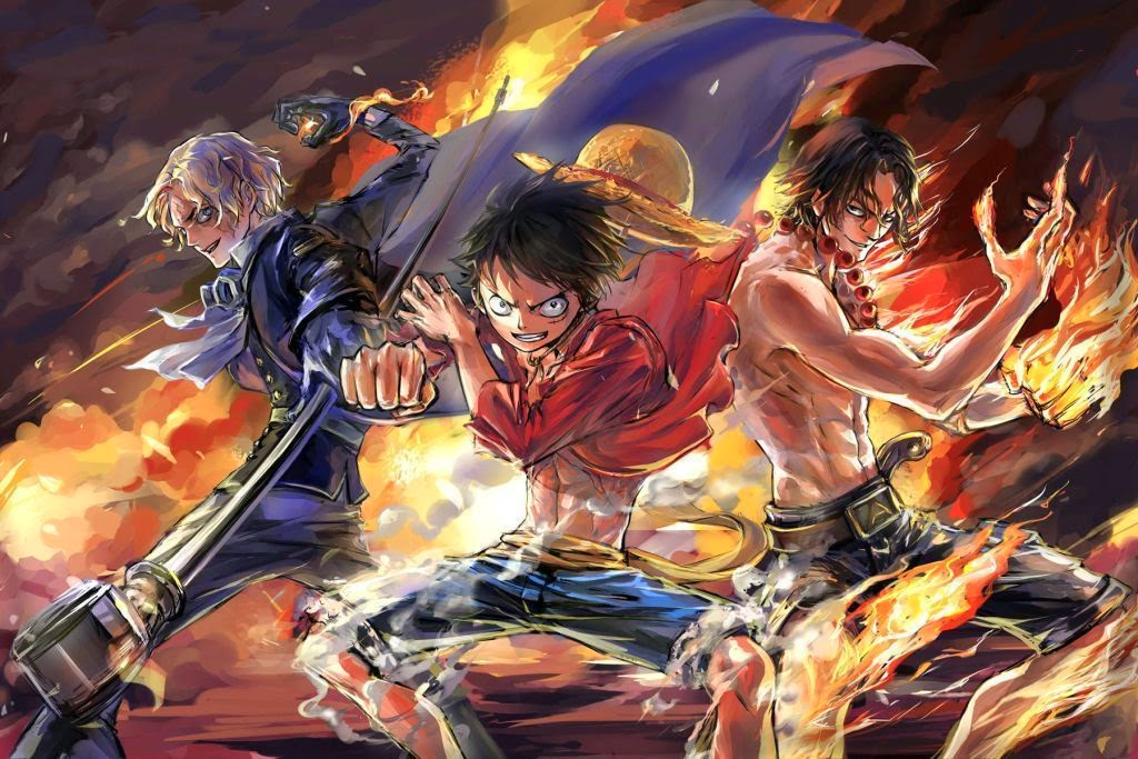 One piece, Hd wallpaper and Wallpapers on Pinterest