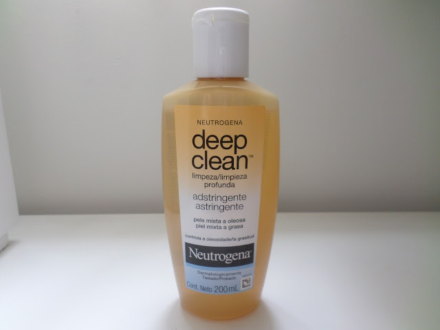 tonico neutrogena deep clean