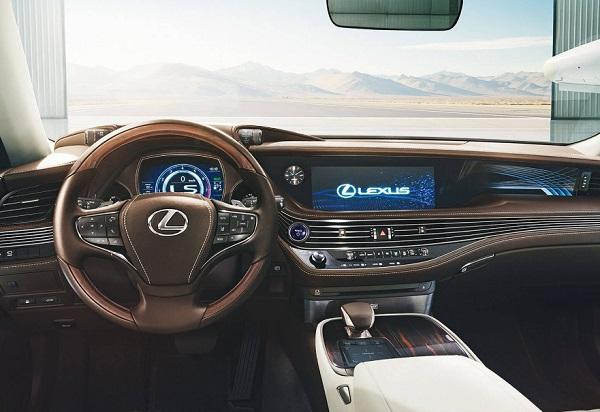 Lexus LS 500h F-Sport Interior