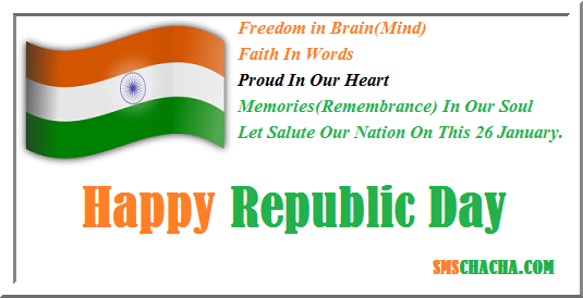 Republic Day Good Morning Sms