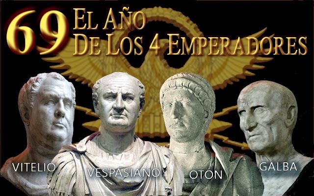 69, el año de los 4 emperadores