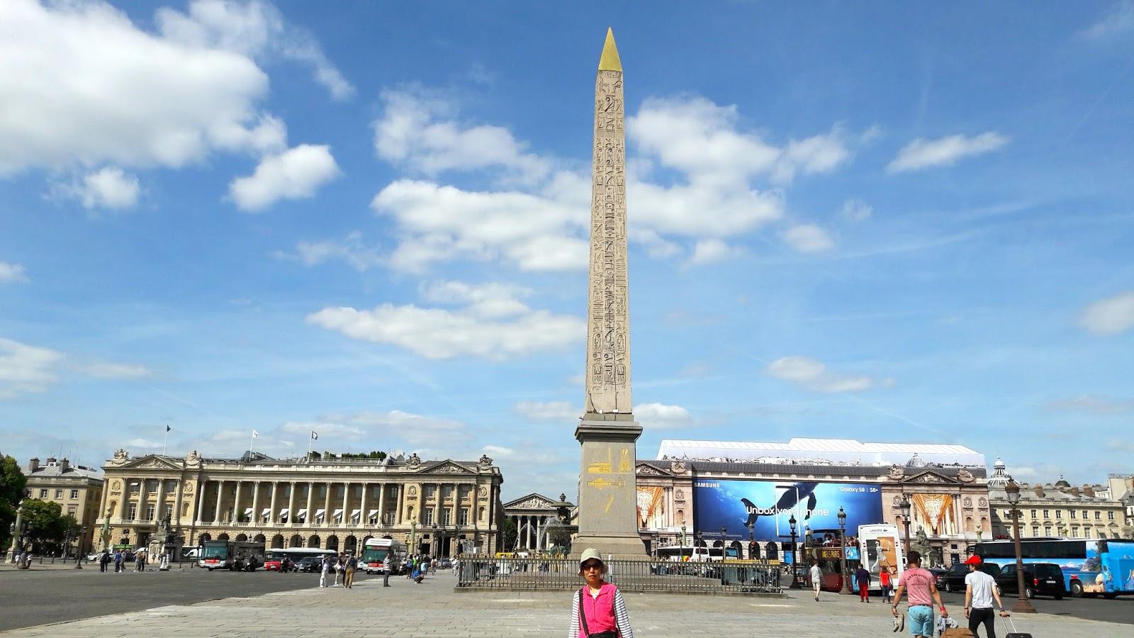 【法國自由行】巴黎協和廣場 | 真幸福