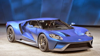 Supe Car Ford GT Power will Amounting to 700 hp
