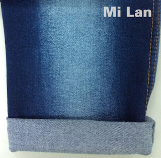 Vải Jean T/R thun W75