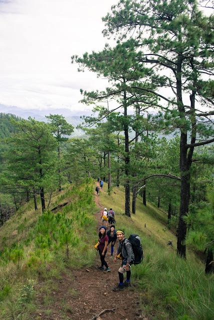 Descent to Itogon, Benguet