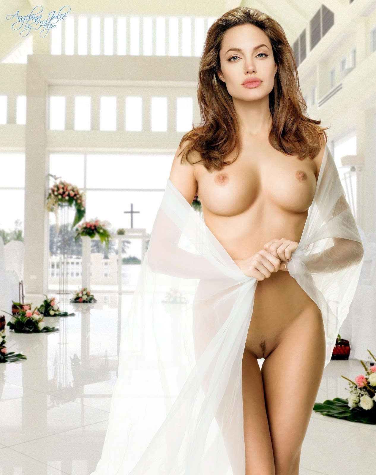 pictures angelina jolie fully naked