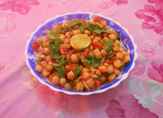 how to make channa chaat