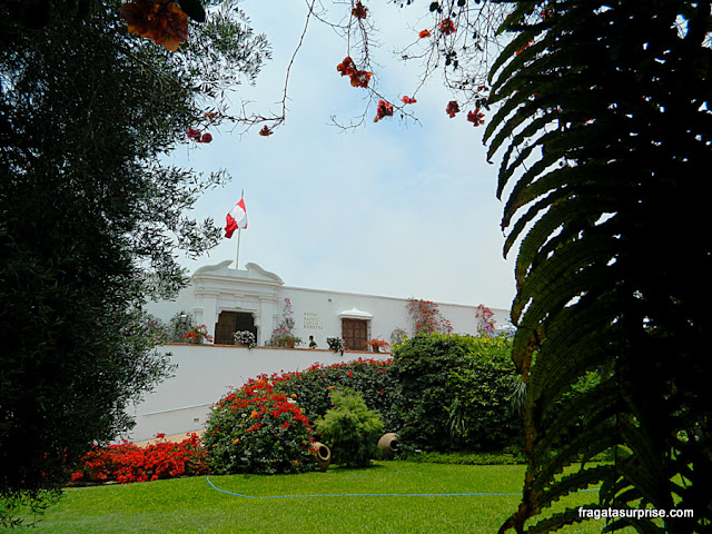 Sede do Museu Larco, Lima, Peru