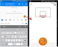 Giocare a basket su Messenger