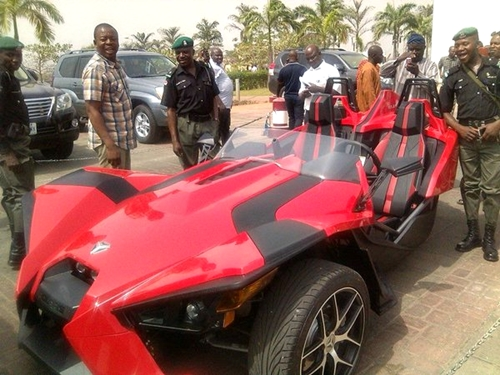 Senator Dino Melaye Flaunts Latest Luxury Super Car Reportedly Worth Around $24,000 (Photos)