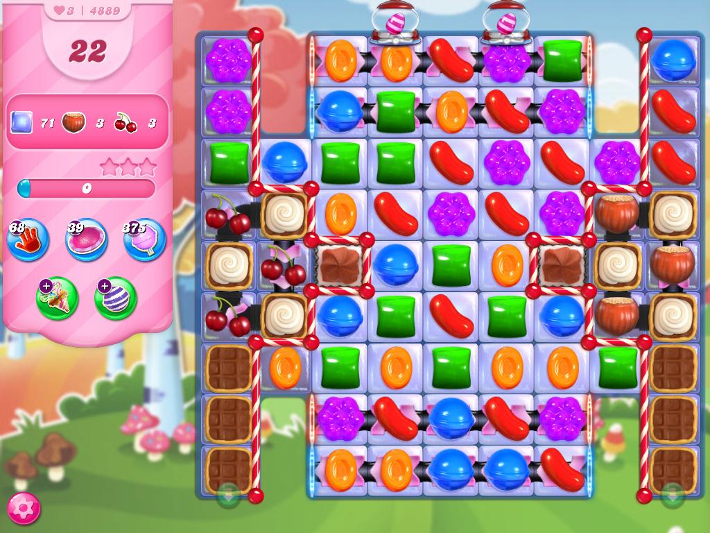 Candy Crush Saga level 4889