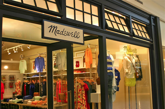 madewell short hills mall nj