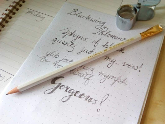 Blackwing Pearl Pencil | A Review | A Convert!