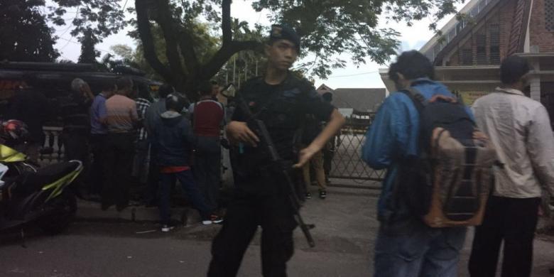 Mencekam…!! Bom Bunuh Diri Terjadi di Gereja Katolik di Medan, Begini Kronologinya…..