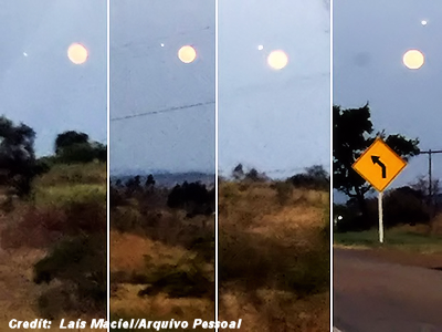 UFOs 'Roamed at Will' on the Night of the Supermoon 9-27-15