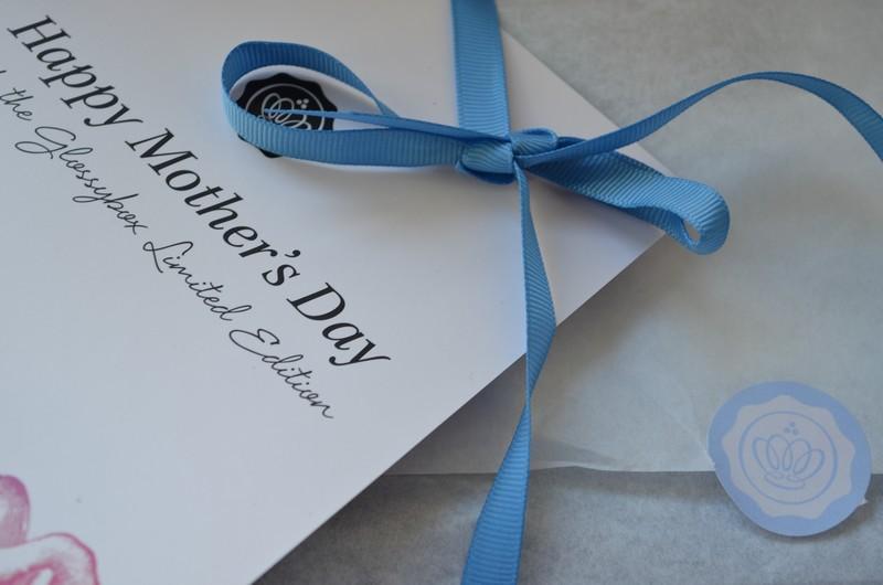 GlossyBox et son  édition spéciale fête des mères