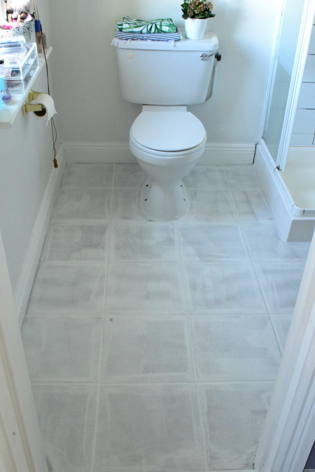 painted tile floor 2 0