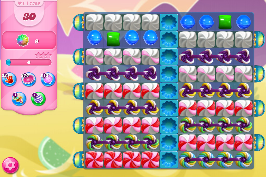 Candy Crush Saga level 7539