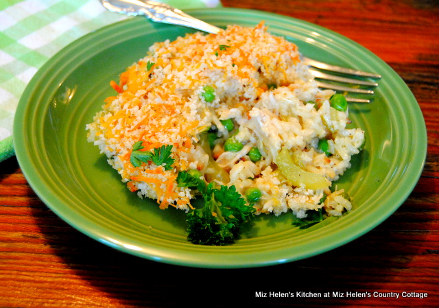 Old Fashioned Chicken and Rice Casserole at Miz Helen's Country Cottage