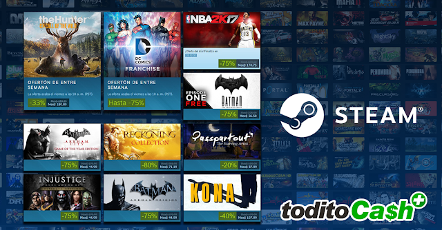 ofertas steam todito cash