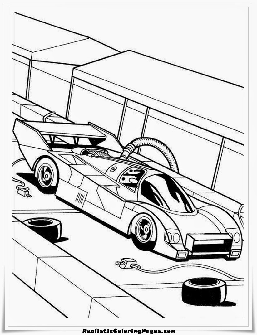 cool hot wheels coloring pages for kids