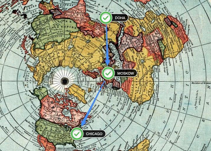 Waduh, Ternyata Peta yang Selama Ini Kita Pelajari Salah Kaprah!