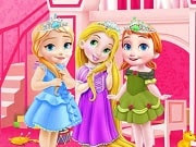 Have a great time playing this new Baby game called Baby Princesses Room on GamesGirlGames.com. These little Disney princesses are really taking their chores seriously in this room cleaning game and it is up to you to help them out because that room is a mess. You must find all the hidden objects at first as you will be using them later to clean everything up. Start the princess room decoration game to create a whole new feel for the area.
