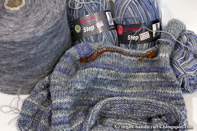 Ülalt alla kootud džemper / Top down Jumper
