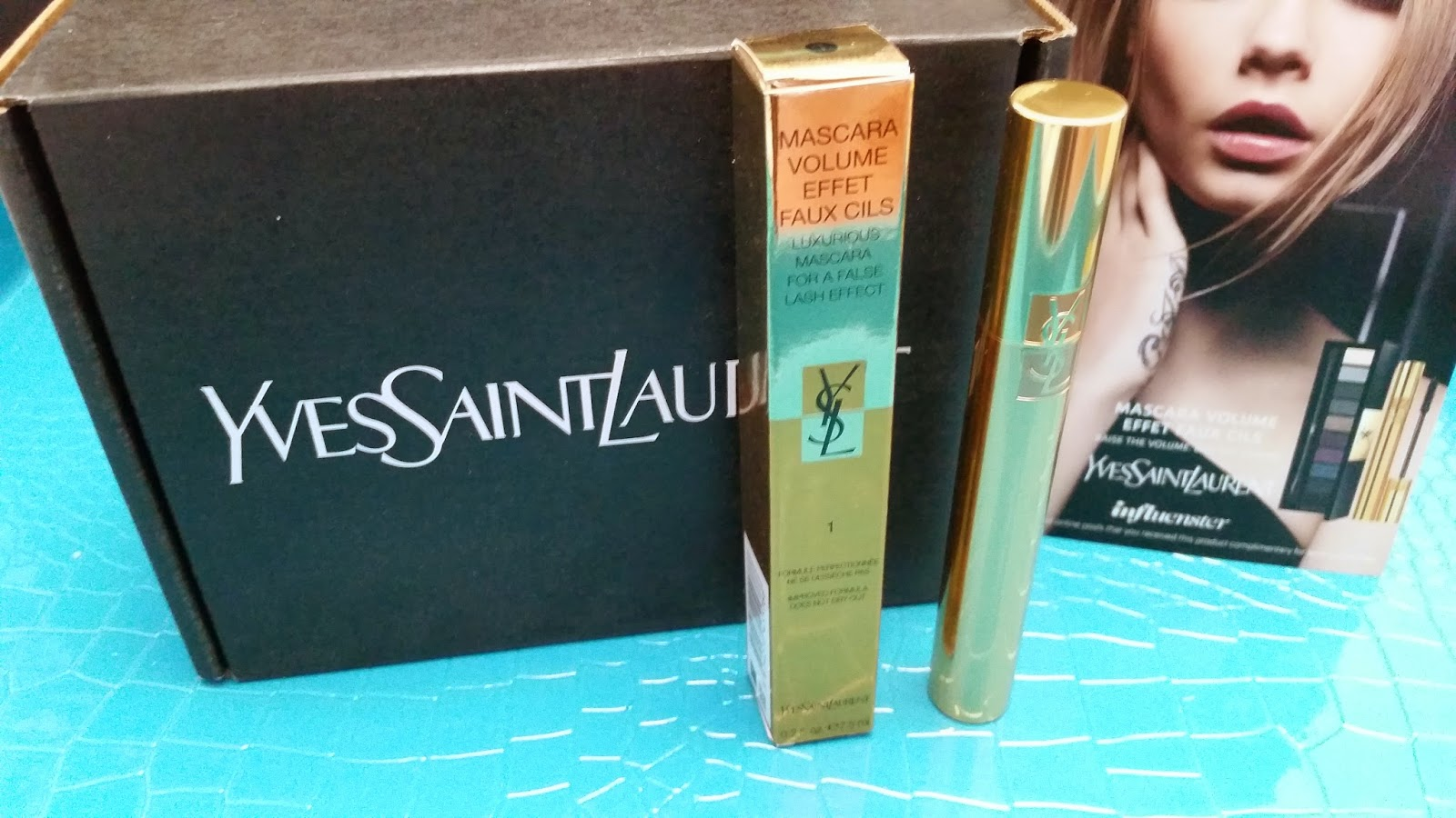 Yves Saint Laurent Mascara Volume Effet Faux Cils and voxbox