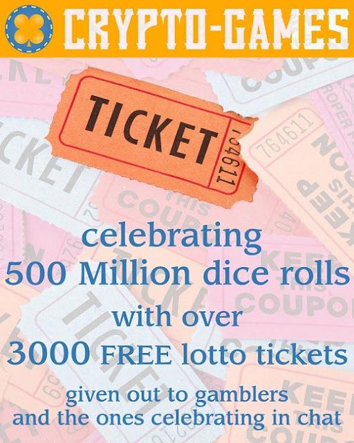500 Million Bets ~ CryptoGames Blog