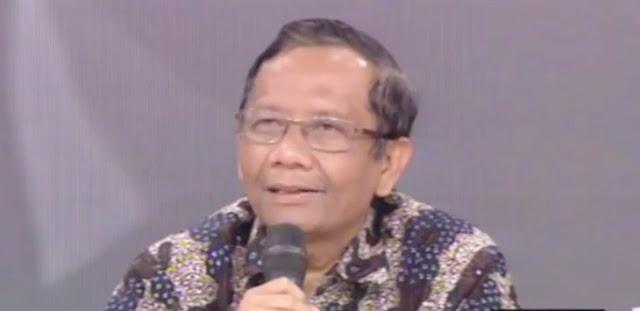 Mahfud MD Ogah Jadi Ketua Tim Sukses Jokowi-Ma'ruf