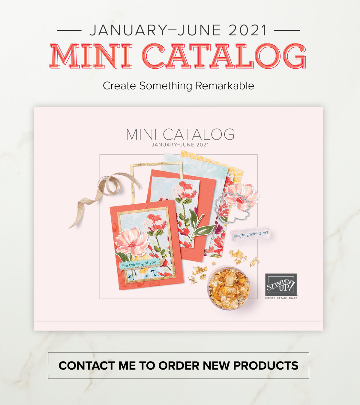 Stampin' Up new mini-catalog Jan - June