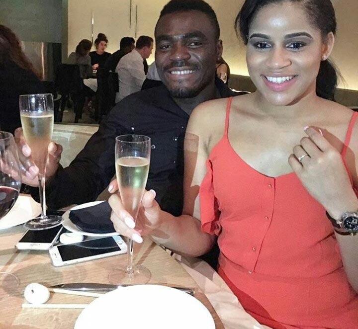 Emenike and Iheoma Nnadi are engaged!