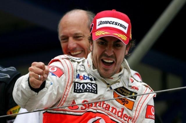 El Santander ignora a Alonso en su renovación con McLaren