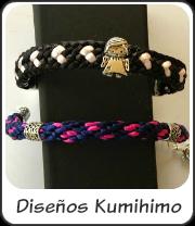 Diseños Kumihimo