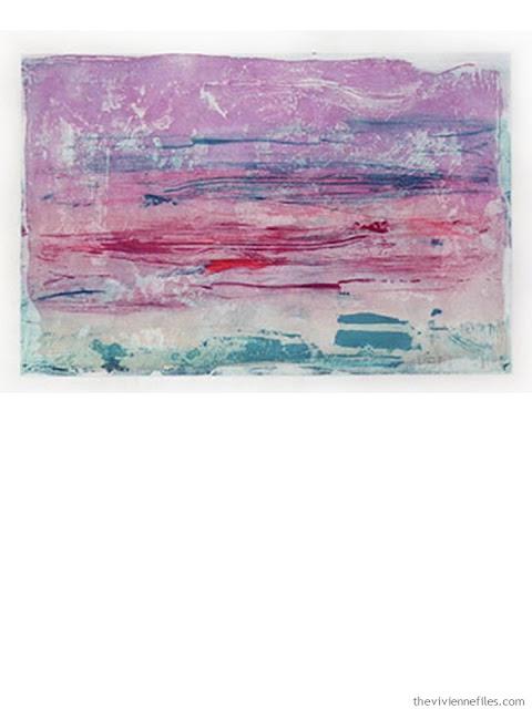 Sure Violet by Helen Frankenthaler