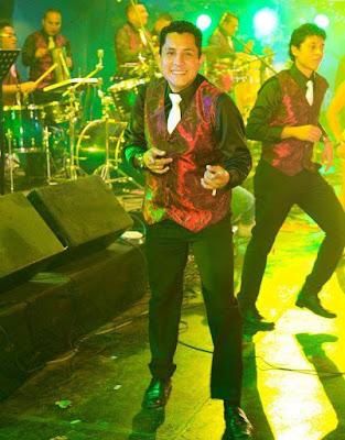 Foto de Los Villacorta en pleno concierto