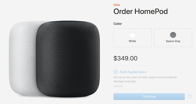 Apple's $349 HomePod Speaker Now Available To Preorder In United States, Australia, And United Kingdom