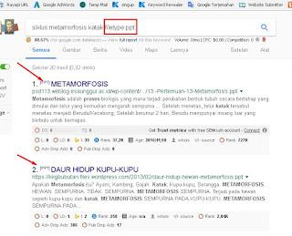 Memanfaatkan Fungsi 'Filetype' Untuk Mencari File di Search Engine