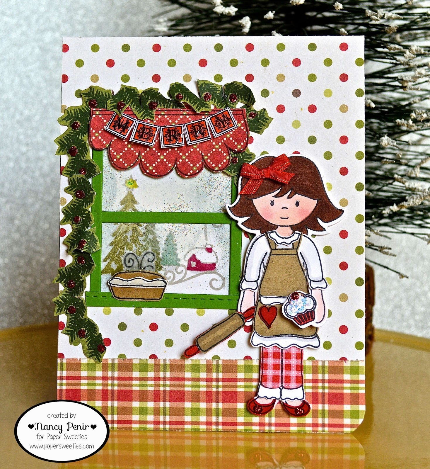 Happy Holidays Inspiration: Artful Notions: Paper Sweeties December Inspiration