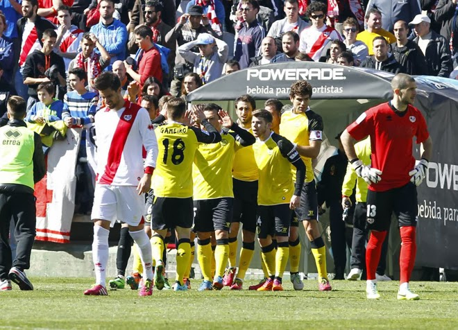 crónica rayo vallecano de madrid 0 vs sevilla fc 1