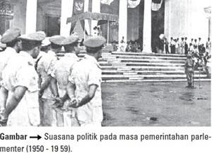 suasana politik pada masa pemerintahan