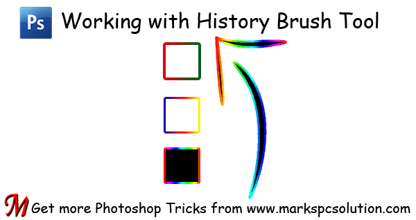 History Brush Windows Image