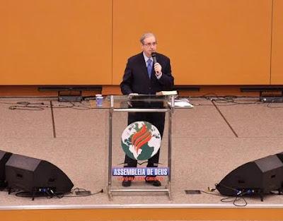 Eduardo Cunha, ADVEC, púlpito, evangélico, Assembléia de Deus