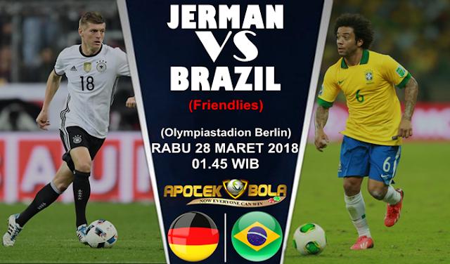 Prediksi Jerman vs Brasil 28 Maret 2018