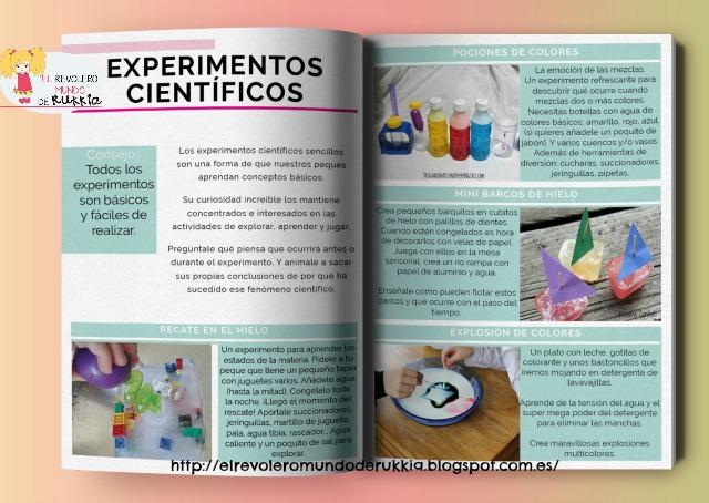 experimentos.niños